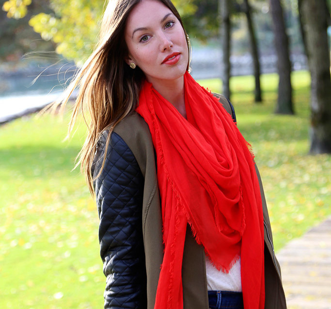 Spread #GoodLove with Obakki Foundation's Signature Red Scarf